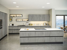Venice Kitchen in London Concrete