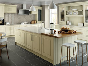 Surrey Kitchen in Alabaster