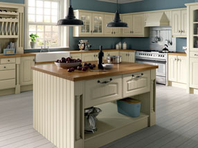 Westbury Kitchen in Ivory