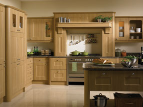 Cambridge Kitchen in Lissa Oak
